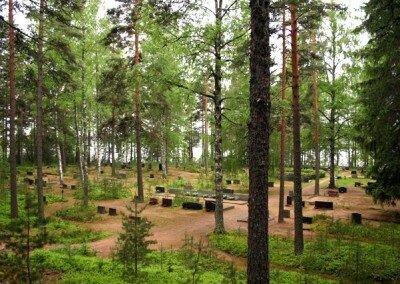 Mäntysaaren Hautausmaa – Kinansaari